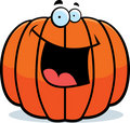Pumpkin Smiling Royalty Free Stock Photos
