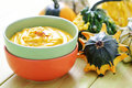 Pumpkin soup Royalty Free Stock Photos