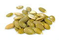 Pumpkin sunflower seeds close up Royalty Free Stock Image