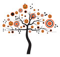 Pumpkin Tree Stock Images