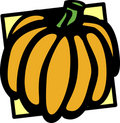 Pumpkin vector illustration Stock Image