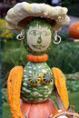 Pumpkin Woman Royalty Free Stock Photos