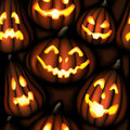Pumpking_pattern Immagini Stock