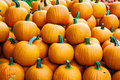 Pumpkins for sale in austria Royalty Free Stock Photo