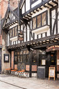 The Punch Bowl pub. York, North Yorkshire, England Royalty Free Stock Photo