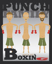 Punch Family Royalty Free Stock Photos