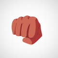 Punch fist vector