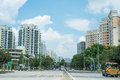 Punggol Road, Singapore Stock Photo