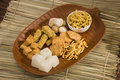 Punjabi bhaji delicious indian sweets Royalty Free Stock Images