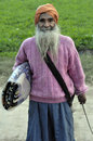 Punjabi indian old man Royalty Free Stock Image