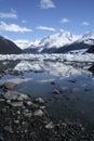 Punta Bandera, Lago Argentino, Calafate, Patagonia, Argentina. Royalty Free Stock Photo