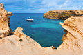 Punta de Sa Pedrera coast in Formentera Stock Photo
