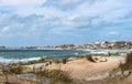 Punta del diablo beach uruguay popular tourist place in Stock Photo