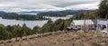 Punto Panoramico on the Circuito Chico in Santa Cruz Province, Argentina Royalty Free Stock Photo