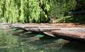 Punts - River Cam - Cambridge Royalty Free Stock Photo