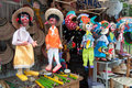 Puppet charming puppets made manually their are sold in the streets of cholula mexico Royalty Free Stock Photography