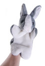Puppet. Hand puppet on background Royalty Free Stock Image