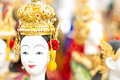 Puppet of thailand s fresh to the entertainment on antiquity to the present Royalty Free Stock Images
