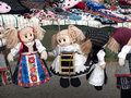 Puppets some like decoration expose for sell Royalty Free Stock Photo