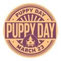Puppy Day satmp