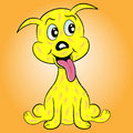 Puppy Dog Cartoon Character Stock Image