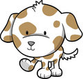 Puppy Dog Vector Stock Image