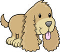 Puppy Dog Vector Illustration Stock Photo
