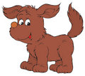 Puppy (vector clip-art) Stock Photography
