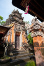 Pura Saraswati temple, Ubud. Bali, Indonesia Royalty Free Stock Image