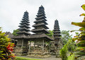Pura taman ayun temple important in bali Stock Image