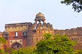 Purana qila in delhi old fort or medieval fortress one of main sights of Stock Photography