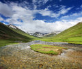 Purbinar valley pakistan s wild life national park and trek to dudipat lake the trek provides lush green eye soothing views and Stock Photography