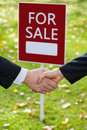 Purchase agreement Royalty Free Stock Photo