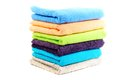 Pure cotton towels Royalty Free Stock Images
