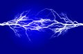 Pure Energy and Electricity Symbolizing Power Royalty Free Stock Photo