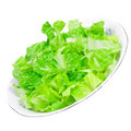 Pure green salad Stock Images