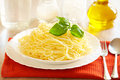 Pure spaghetti Stock Photography