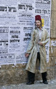 Purim in Mea Shearim Stockbilder