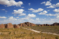 Purnululu National Park, Western Australia on a sunny day Royalty Free Stock Photo