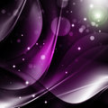 Purple abstract background transparent curve lines with dots on a Stock Photo