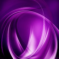 Purple abstract background transparent curve lines on a surface Stock Photos