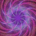 Purple Abstract Colorful Fract...