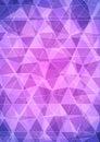 Purple Abstract Diamond Pattern Triangle Background Royalty Free Stock Photo
