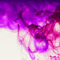 Purple abstract hand drawn watercolor background. Watercolor com
