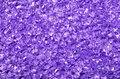 Purple acrylic ice scatters background sparkling lilac of wedding close up Stock Image