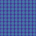 Purple and aqua tiles tile pattern Stock Photos