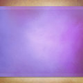 Purple background with brown textured frame and purple stripes Royalty Free Stock Photo