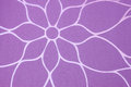Purple background with floral pattern nice Stock Photos