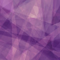 Purple Background With Triangl...