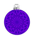 Purple Ball Ornament Stock Photography